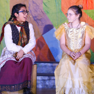 Two students in a Project Success musical